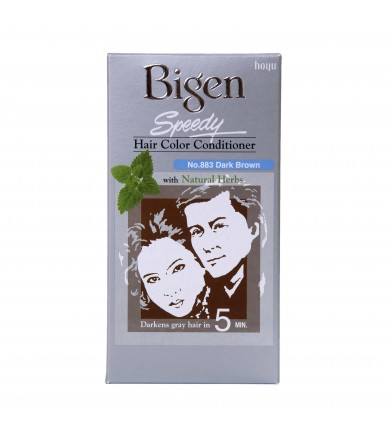 Bigen Hair Color Speedy Conditioner Dark Brown 883