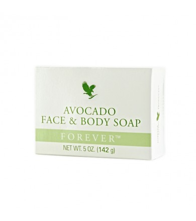 forever avocado face and body soap 142g