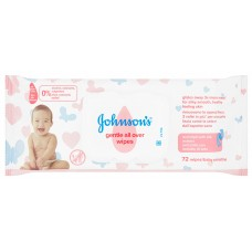 Johnson's gentle all over wipes - 72 wipes 3574661421810