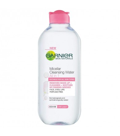 garnier -micellar cleansing water - all in one 400 ml  3600541729711