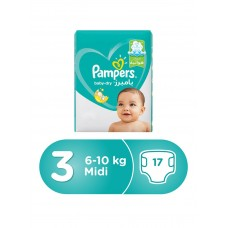 Pampers New Baby Dry (3) - Weight 6-10 kg - 17 Diapers 4015400751373