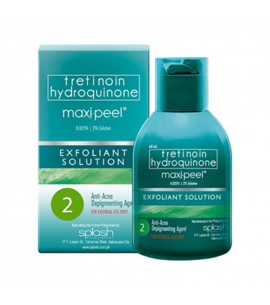 Maxi peel - Exfoliant - anti-acne depigmenting agent 2 - 60 ml