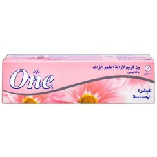 One - hair removal cream with chamomile - for sensitive skin - 90 g