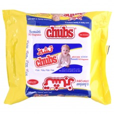 chubs strong wipes -sensiti no fragrance 20 wipes
