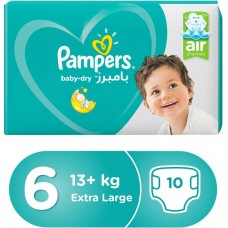 Pampers Baby Dry (6) Weight +13-10 Diaper 8001090859419