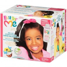 Just For Me - Baby Hair Straightener Cream With Smoothing Creams (application1) super