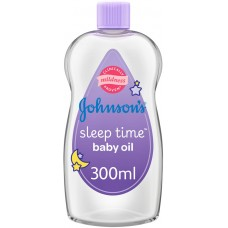 JOHNSON'S Baby, Baby Oil, Sleep Time, 300ml