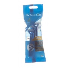 Active Go Body Razors 3 pcs