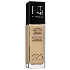 Maybelline New York Fit Me Liquid Face Foundation - 1.01 oz., 220 Natural Beige