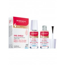 Mavala nail shield reinforces and protect nails (2 x10ml)