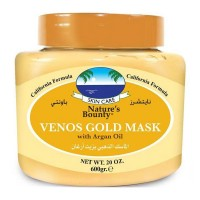 Natures Bounty Venos Gold Mask with Argan Oil - 600 gm