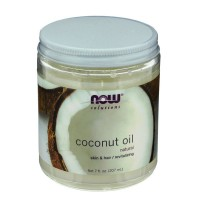 Now Foods, Coconut Oil,Natural 7 fl oz 207 ml