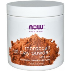 Now Foods Moroccan mud powder for sensitive skin - for cleaning and bleaching 170 g
