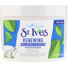 St. Ives Facial Moisturizer Renewing Skin Collagen & Elastin 283g