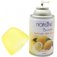 Automatic Air Frshener Dispenser Lemon By Norsina 250 ML