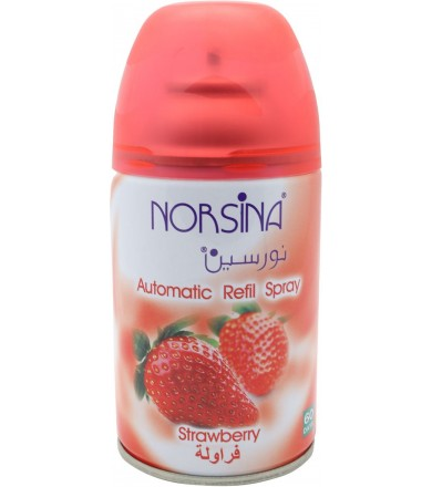 Automatic Air Frshener Dispenser Strawberry By Norsina 250 ML