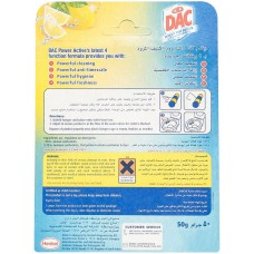 DAC Power Active Lemon Toilet Rim Block - 50 g